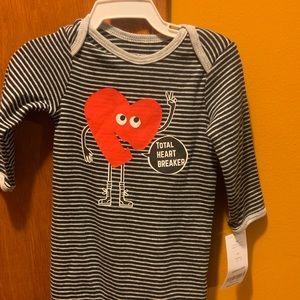 Carter's One Pieces - Nice Valentine's Day pajamas